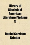 Library of Aboriginal American Literature  N/A edition cover