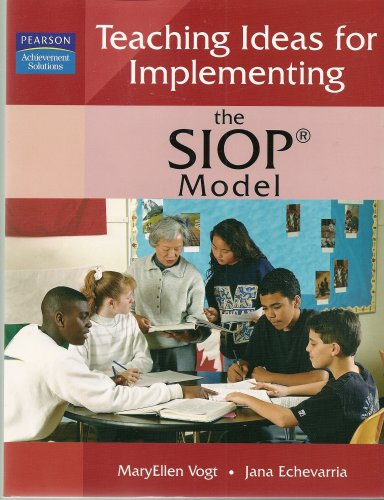 TEACHING IDEAS F/IMPLEMENT.SIO 1st 9781402929731 Front Cover