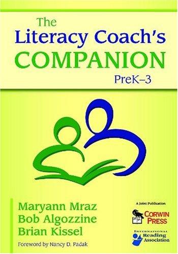 Literacy Coach's Companion, PreK-3   2009 edition cover