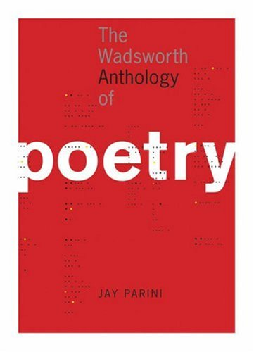 Wadsworth Anthology of Poetry   2006 edition cover