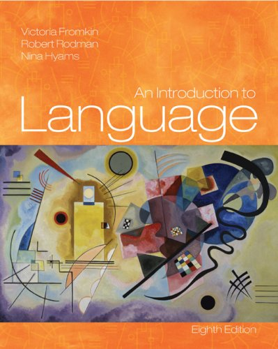 Introduction to Language  8th 2007 edition cover