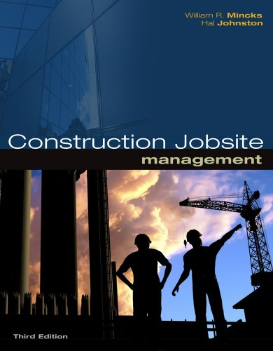 Construction Jobsite Management  3rd 2011 edition cover