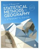 Statistical Methods for Geography A Student's Guide 4th 2014 edition cover