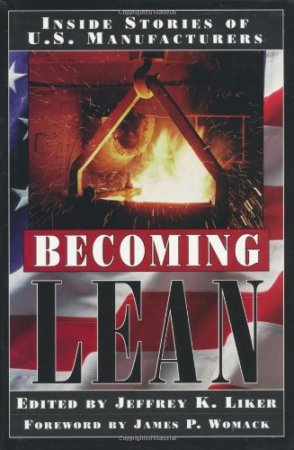 Becoming Lean Inside Stories of U. S. Manufacturers  1997 edition cover
