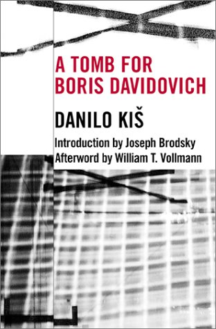 Tomb for Boris Davidovich   2001 edition cover