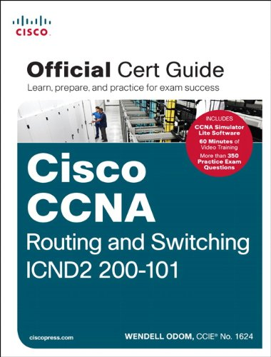 Cisco CCNA - Routing and Switching ICND2 200-101   2013 edition cover