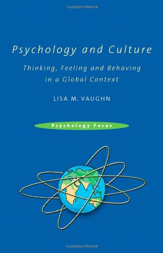 Psychology and Culture Thinking, Feeling and Behaving in a Global Context  2010 edition cover