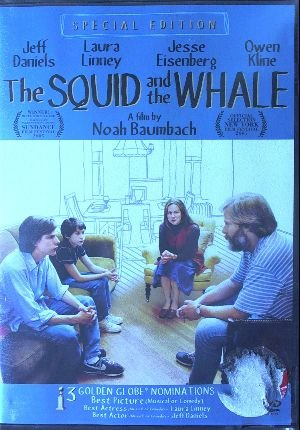 The Squid and The Whale - Special Edition DVD - Widescreen System.Collections.Generic.List`1[System.String] artwork