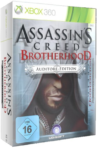 Assassin's Creed Brotherhood - Auditore Edition (uncut) Xbox 360 artwork