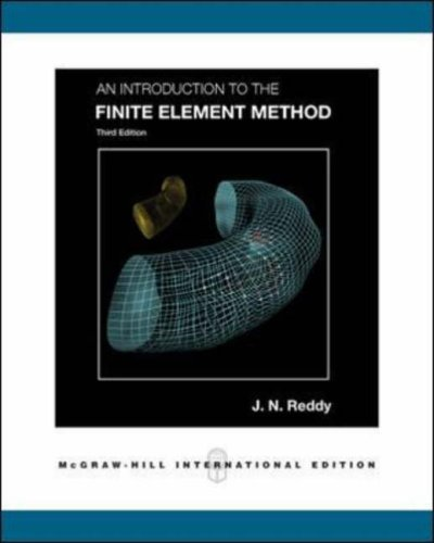 An Introduction to the Finite Element Method N/A edition cover