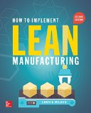 How to Implement Lean Manufacturing:   2015 edition cover