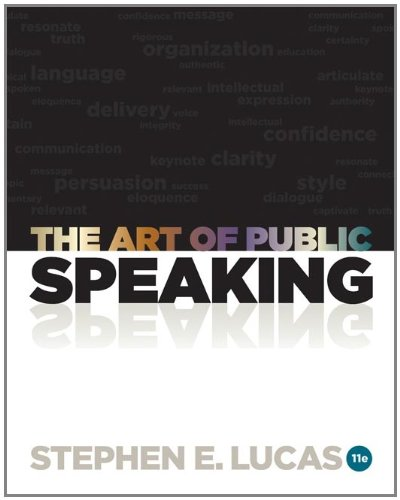 Art of Public Speaking  11th 2012 edition cover