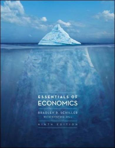 Essentials of Economics  9th 2014 edition cover