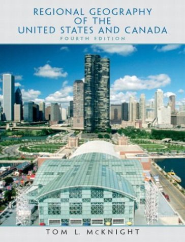 Regional Geography of the United States and Canada  4th 2004 edition cover