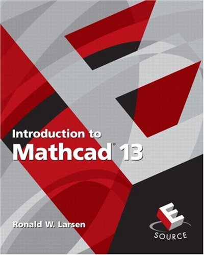 Introduction to MathCAD 13  2nd 2007 edition cover