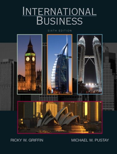 International Business  6th 2010 edition cover