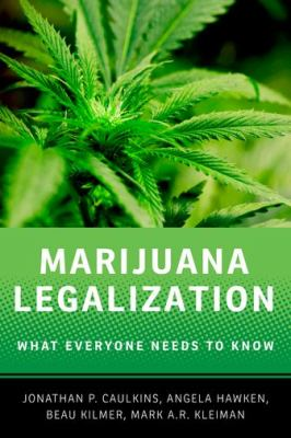 Marijuana Legalization   2012 edition cover