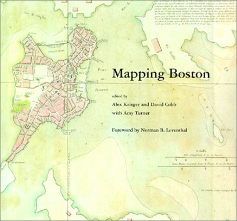 Mapping Boston   2001 (Reprint) 9780262611732 Front Cover