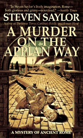 Murder on the Appian Way  Reprint  9780312961732 Front Cover