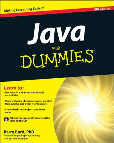 Java for Dummies  5th 2011 edition cover