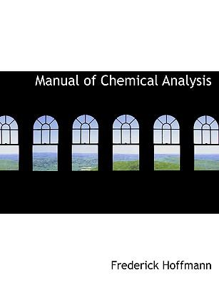 Manual of Chemical Analysis:   2008 edition cover