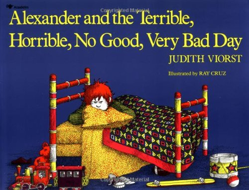 Alexander and the Terrible, Horrible, No Good, Very Bad Day  2nd 1972 (Reprint) edition cover