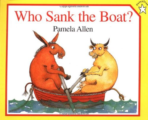 Who Sank the Boat?   1996 edition cover