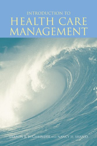 Introduction to Health Care Management   2007 edition cover