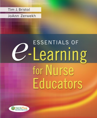 Essentials of e-Learning for Nurse Educators   2011 edition cover