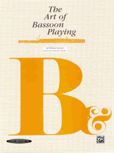 Art of Bassoon Playing   1995 (Revised) edition cover