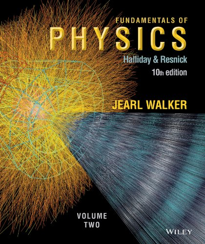 Fundamentals of Physics, Chapters 21-44  10th 2014 edition cover