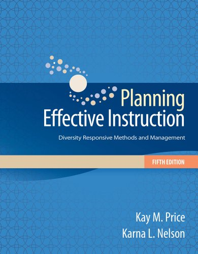 Planning Effective Instruction Diversity Responsive Methods and Management 5th 2014 edition cover