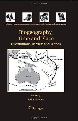 Biogeography, Time and Place Distributions, Barriers and Islands  2007 9781402063732 Front Cover
