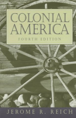 Colonial America 4th 1998 edition cover