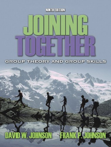 Joining Together Group Theory and Group Skills 9th 2006 (Revised) edition cover