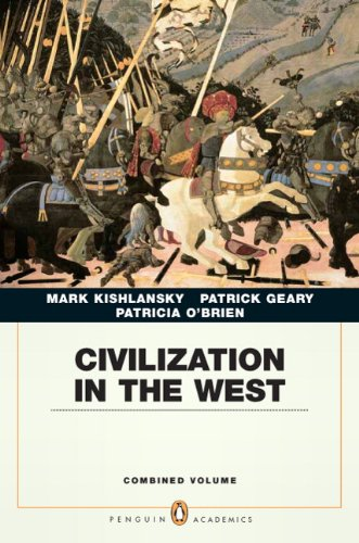 Civilization in the West  6th 2010 edition cover