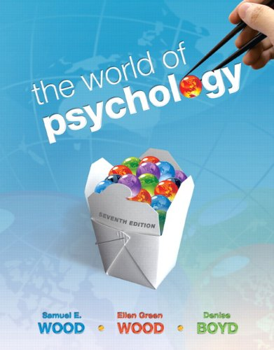 World of Psychology  7th 2011 edition cover