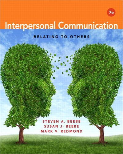 Interpersonal Communication Relating to Others 7th 2014 9780205862733 Front Cover