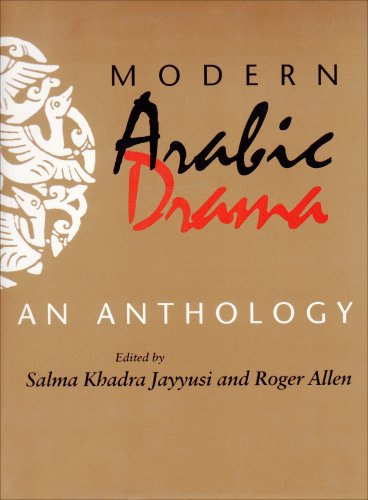 Modern Arabic Drama An Anthology  1995 9780253209733 Front Cover