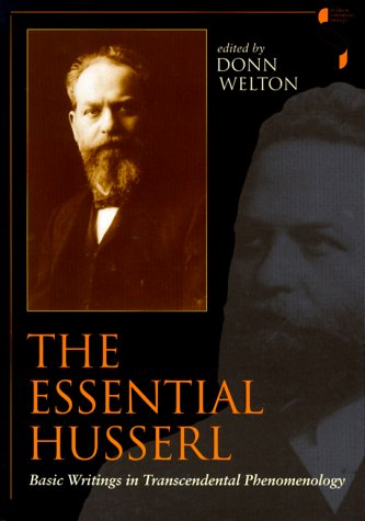 Essential Husserl Basic Writings in Transcendental Phenomenology N/A edition cover