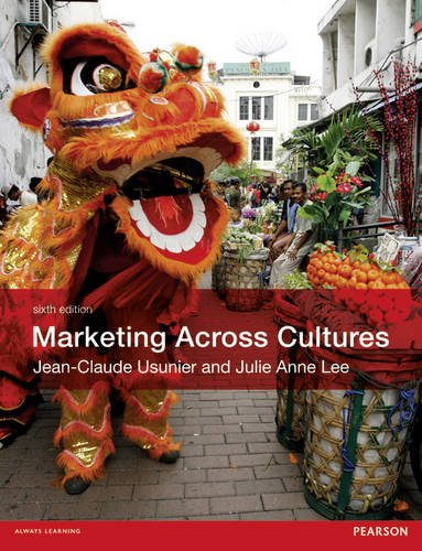 Marketing Across Cultures  6th 2013 edition cover