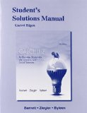 Student's Solutions Manual for Calculus for Business, Economics, Life Sciences and Social Sciences  13th 2015 edition cover
