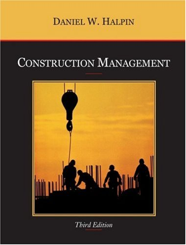 Construction Management  3rd 2006 (Revised) edition cover