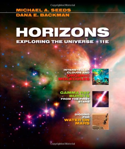 Horizons Exploring the Universe 11th 2010 edition cover