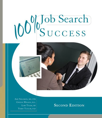 100% Job Search Success  2nd 2012 edition cover