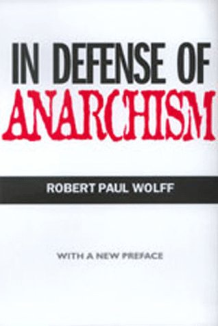 In Defense of Anarchism   1998 edition cover