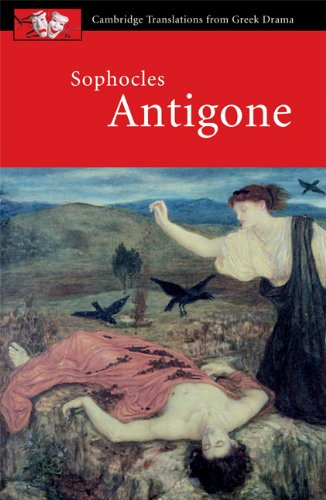 Sophocles Antigone  2002 9780521010733 Front Cover
