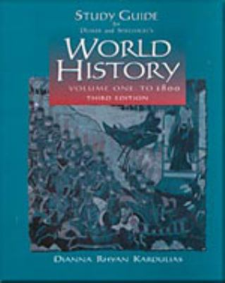 World History  3rd 2001 (Guide (Pupil's)) 9780534571733 Front Cover