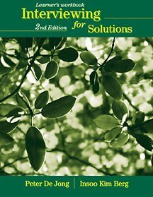 Interviewing for Solutions  2nd 2002 (Revised) edition cover