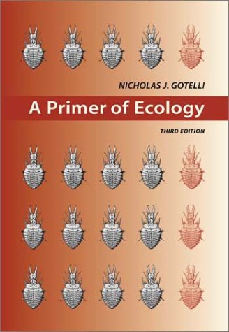 Primer of Ecology  3rd 2001 edition cover